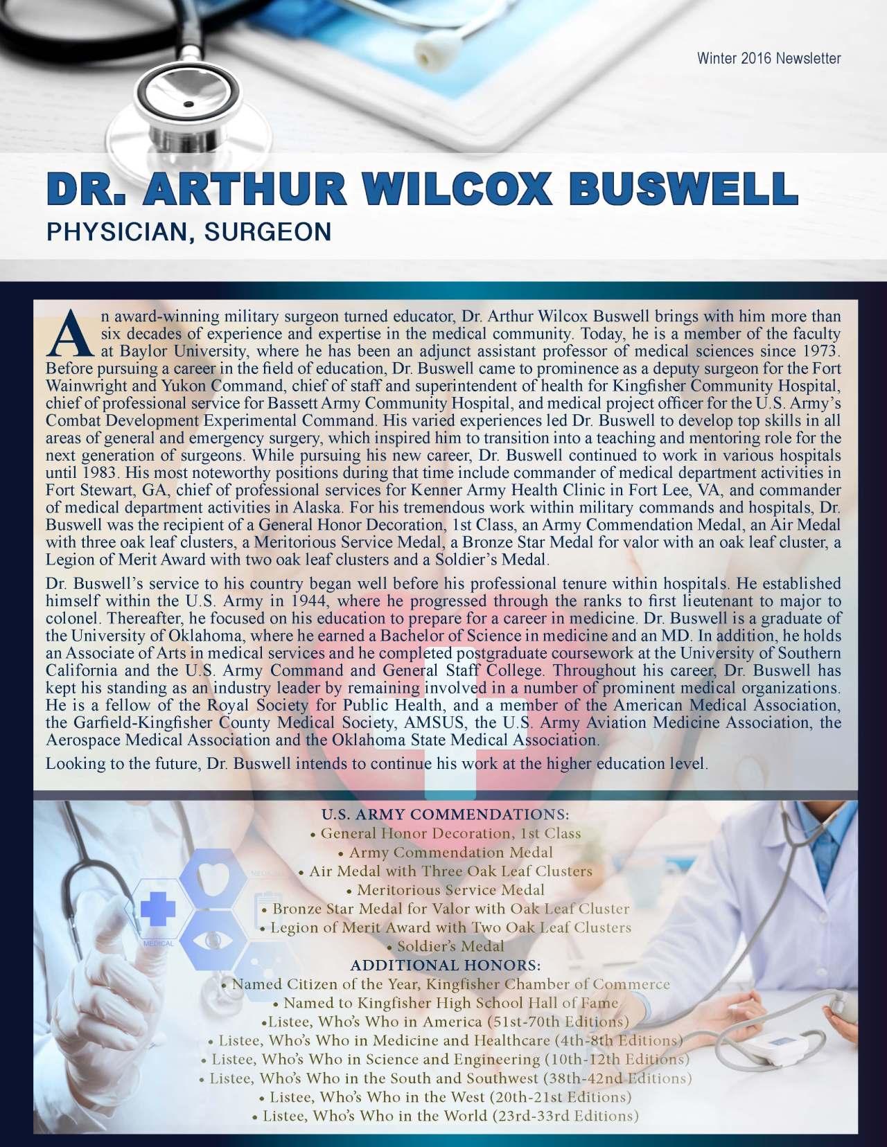 Buswell, Arthur